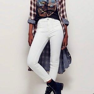 Free People Beverly High Rise Jean